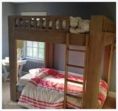Restoration Hardware Bunk Bed Hue Home Week 3 Orc Diy Boy S Room W Seating Ceiling