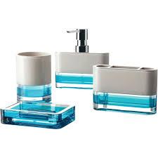 Cracked Glass Bathroom Accessories Wondrous Blue Glass Bathroom Accessories Soap Dispenser Rounded