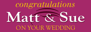 congratulations wedding banner congratulations on your wedding banner personalised banners