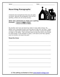 Editing And Proofreading Worksheets Editing Worksheet Worksheets