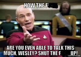 Shut Up Wesley Meme - let s play a game texasbowhunter com community discussion forums