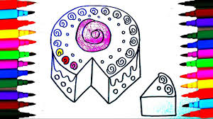 coloring pages happy birthday cake l drawing pages to color for