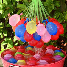 water balloons 3 beam of balloons colorful magic water balloons outdoor