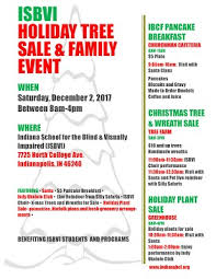 isbvi tree sale family event indiana school for the