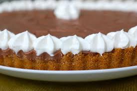 chocolate pudding tart compulsive foodie
