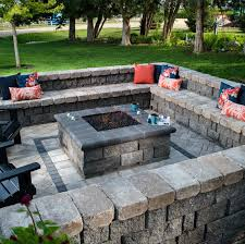 Outdoor Patio Firepit Inspiration Pit Square Pit And Squares
