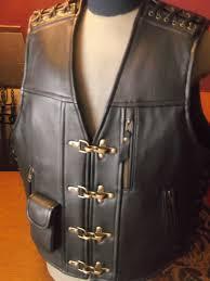 biker vest patch vest handmade biker vest motorcycle vest genuine leather