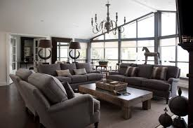 Fine Decoration Gray Living Room Furniture Sets Skillful Living - Gray living room sets