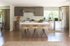 greenbrae kitchen arclinea stainless steel cabinets designed by
