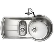 Rangemaster Keyhole  Bowl Stainless Steel Sink - Rangemaster kitchen sinks