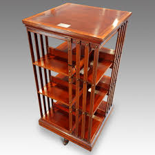 Revolving Bookcases Edwardian Inlaid 3 Tier Revolving Bookcase Sold Hingstons