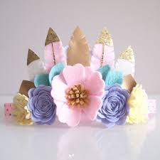 felt headbands 26 best kirei handmade felt feather crown images on