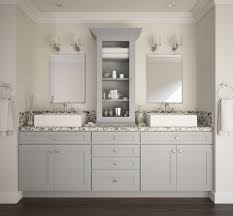 society shaker dove gray bathroom vanities all home cabinetry