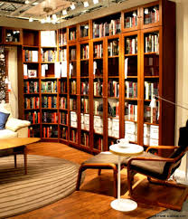 Unique Home Office Library View In Gallery I For Ideas - Home office library design ideas