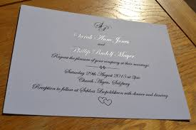 Foil Wedding Invitations Silver Foil Wedding Invitations Bespoke Printed Stationery