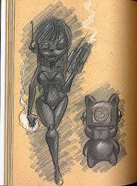 kart1224 jime litwalk sketchbook vol 1