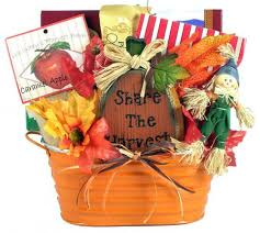 gifts baskets for fall and thanksgiving