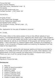 job application letter through email sample