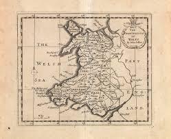 Map Of Wales Lovemaps U2013 Gerald Morgan Nlw Blog Llgc