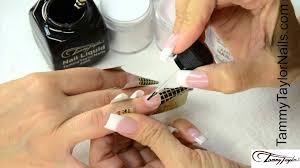tammy taylor ombre and fade french nail demos youtube