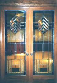 stained glass internal doors doorway