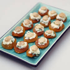 apricot goat cheese and almond bites recipe goat cheese