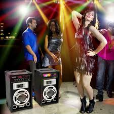 home theater system with fm radio dual 800 watt disco jam powered two way pa bt speaker system w