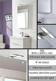 Heated Bathroom Mirror by Artelinea S P A Furniture Monolite Gallery Al 217 Bathroom