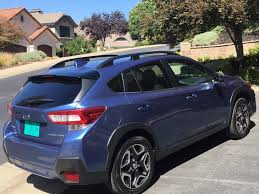 subaru crosstrek interior 2018 2018 subaru crosstrek new redesign a hit tahoe ski world