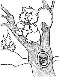 squirrel big teeth coloring squirrel coloring pages