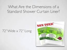 what are the dimensions of a standard shower curtain liner youtube