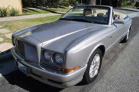 bentley metallic 1999 bentley azure parchment with blue piping stock 723 for sale