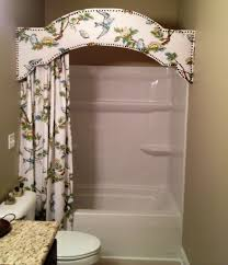 bathroom valance ideas cornice board in bathroom a version of this would look great for
