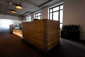 Wood Reception Desk Wooden Reception Desk Interior Design Ideas