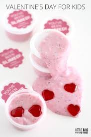printable valentines day slime labels with homemade slime recipe
