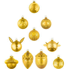 christmas ornaments by alessi emmo home