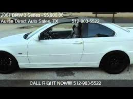 2003 bmw 330 for sale 2001 bmw 3 series 330ci coupe for sale in tx 78750