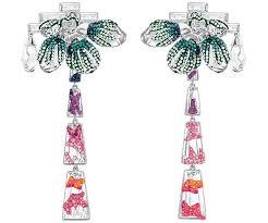 clip on earrings australia mood clip earrings multi coloured australia swarovski
