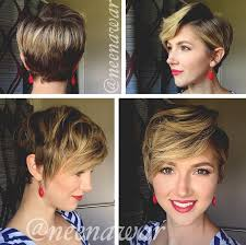 side and front view short pixie haircuts 19 cute wavy curly pixie cuts we love pixie haircuts for short