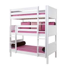 White Bunk Beds For Kids Maxtrix - High bunk beds