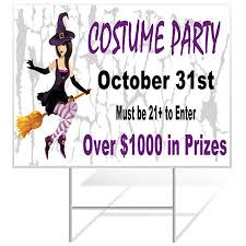 order custom halloween yard signs online today banners com
