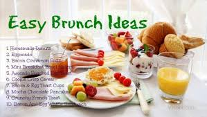 ideas for a brunch 22 easy brunch ideas to choose from