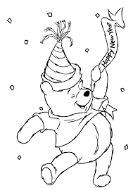 pooh characters coloring pages