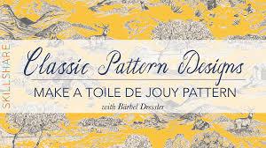 Toile De Jouy Decoration Classic Pattern Designs Make A Toile De Jouy Pattern Bärbel