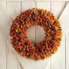 pier 1 imports harvest wood curl wreath best fall wreaths
