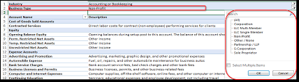Example Of An Expense Report by Overview Of The Chart Of Accounts Quickbooks Learn U0026 Support