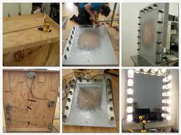 Vanity Table With Lighted Mirror Diy by Diy Make Up Mirror Vanities Room And Makeup