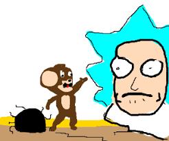 rick kills jerry infront morty