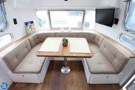 Vintage Airstream Interior by 1978 Airstream Trade Wind Sophia Renovated By Hofarc California