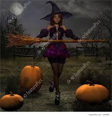 pumpkin witch stock illustration i1440800 at featurepics